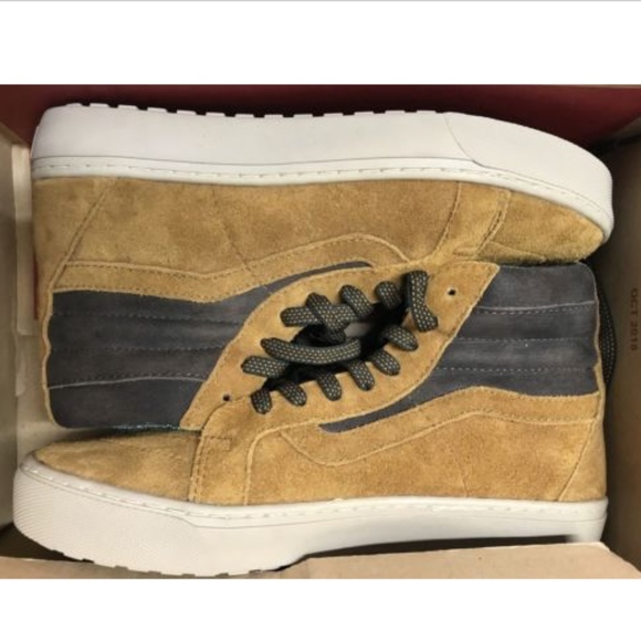 091ff04320 Vans Sk8 Hi MTE Cup Cathay Hummus Leather Boots